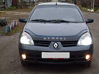 Дефлектор капота VIP Tuning Renault Clio Symbol 2003-2008 длинный