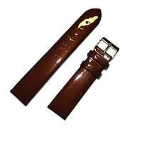 SLAVA Ремешок кожаный SL SLV669 коричневый светлый 16мм