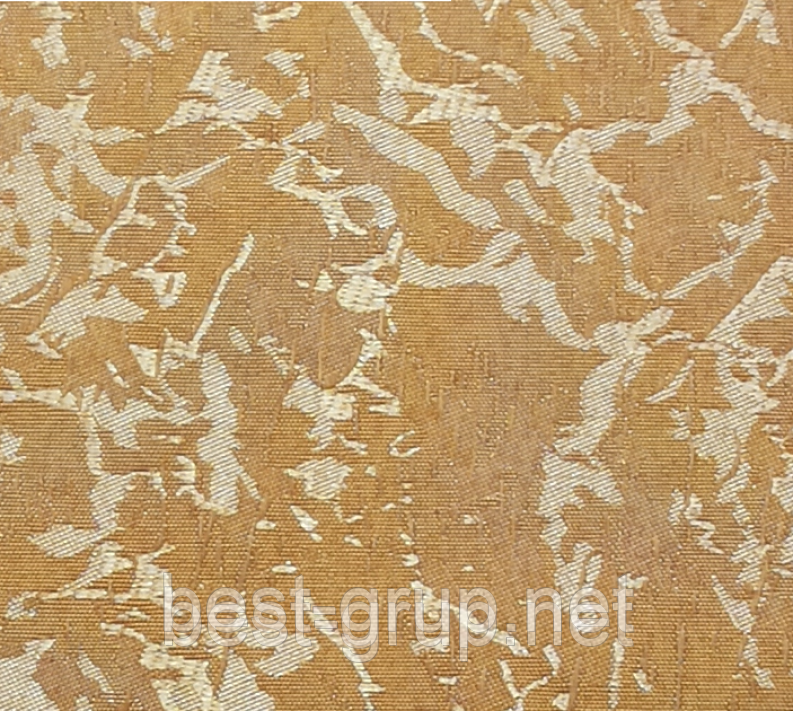 MSV-052 Шафрановий (0,500 х 1,70 м) Venecia (Венеція) -тканинні ролети Oasis Оазис