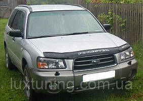 Дефлектор капота VIP TUNING Subaru Forester с 2002-2005 г.в;кузов SG5,SG9