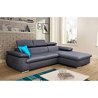 Угловой диван CAPRI со спальным местом и ящиком, PIASKI