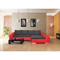 Угловой диван FERRARA со спальным местом и ящиком, PIASKI