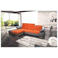 Угловой диван KORFU со спальным местом и ящиком, PIASKI