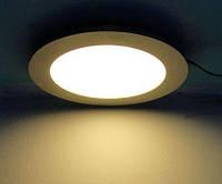Светодиодный потолочный светильник 12W (Круглый)