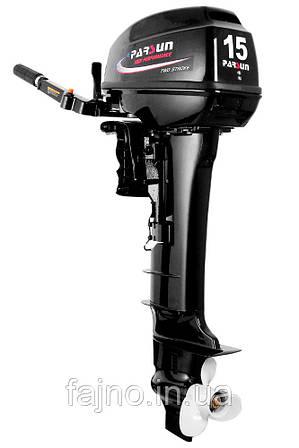 Лодочный мотор Parsun T15BMS PRO (15 л.с., 2-тактный)
