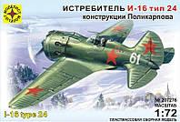 Истребитель И-16 тип 24 конструкции Поликарпова