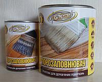 """Лак нитроцеллюлозный порозаполняющий, грунтлак для деревянных поверхностей """"БЛЕСК"""" 2,4 кг"""