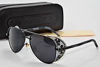 Солнцезащитные очки Chrome Hearts Monster черные