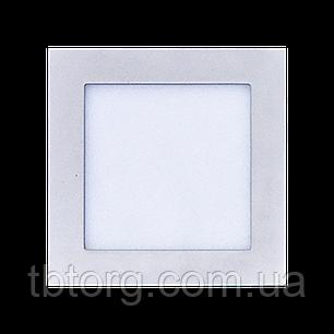 Светодиодный потолочный светильник 6W (Квадратный), фото 2