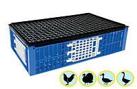 Монолитный ящик для перевозки птицы