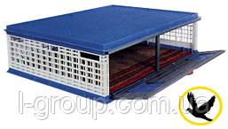 Ящик для транспортування голубів 1000x750x300 мм з орними дверцями