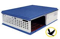 Ящик для перевозки голубей 1000x750x300 мм с раздвижной дверкой, фото 1