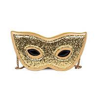 Золотая сумка Карнавальная маска