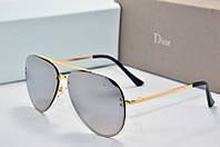 Солнцезащитные очки Dior зеркальные