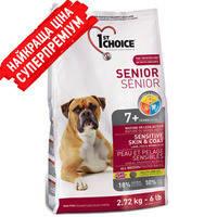 1st Choice (Фест Чойс) Senior All breed - корм для пожилых собак с ягненком и рыбой 6+подарок