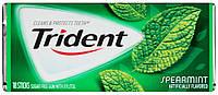 Жевательная резинка Trident Spearmint USA - Мята