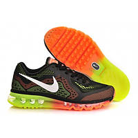 Кроссовки Nike Air Max 2014 Black and Green, фото 1