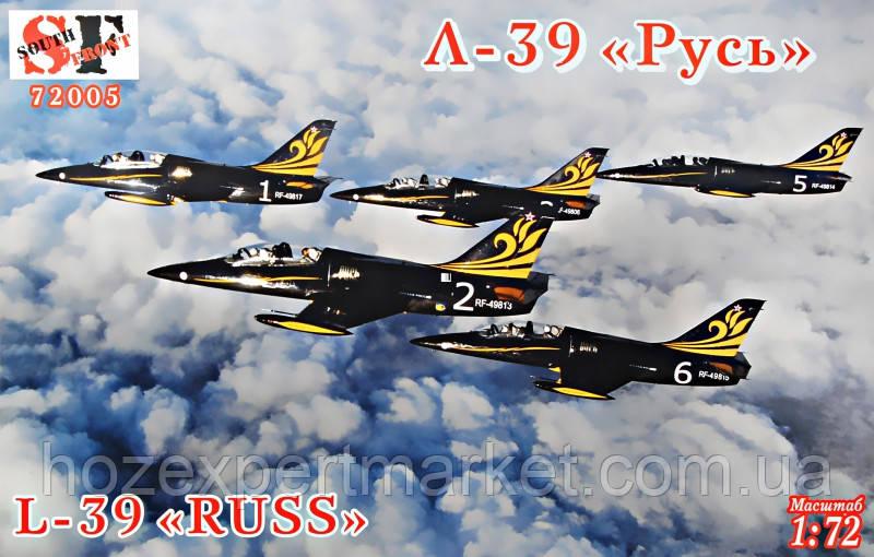 """Учебно-тренировочный самолет L-39 """"Русь"""""""