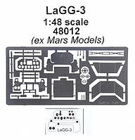 Фототравление для самолета ЛаГГ-3, ранних версий