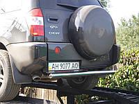 Защитная труба заднего бампера