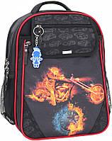 Рюкзак школьный Bagland Отличник 20 л. Черный (31м) (0058070)