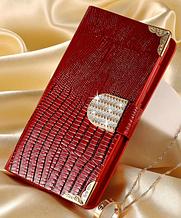 Роскошный чехол-книжка для SONY Xperia Z2 Compact красный