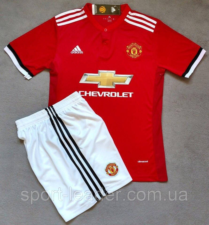 82a5f70154bb Детская футбольная форма Adidas FC Manchester United 2017-18 - Спортлидер›  спортивная и футбольная