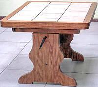 Столик из дерева журнальный раздвижной (2890.1)