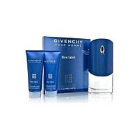 Givenchy Pour Homme Blue Label SET (EDT 100ml + SHOWER GEL 75ml + AFTER SHAVE BALM 75ml)(ORIGINAL)