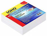 Блок бумаги для записей, 85 мм х 85 мм, 300 листов, не клееный, белый, Soho (3829.6)