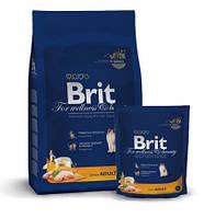 Корм Brit Premium Cat Adult Chicken для взрослых кошек с курицей 170355 /3062, 0,3 кг