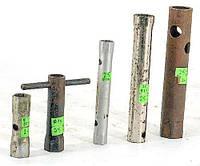 Ключи для автомобильных свечей (диаметры: 10/13, 13, 14/15, 17/19, 19, 21, 22, 25) (4742.10)