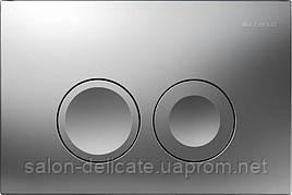 Delta 21 Смывная клавиша, пластик, хром.мат