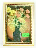Букет с цветами в рамке (5348.1)