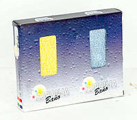 Мочалки для ванной 2 шт в комплекте (5358.85)
