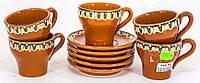 Набор кофейный 5 чашек с блюдцами (5392.1)
