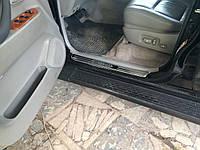 Накладки на пороги Toyota Land Cruiser 100 1998-2007