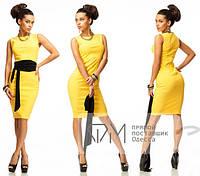 Прямое классическое платье