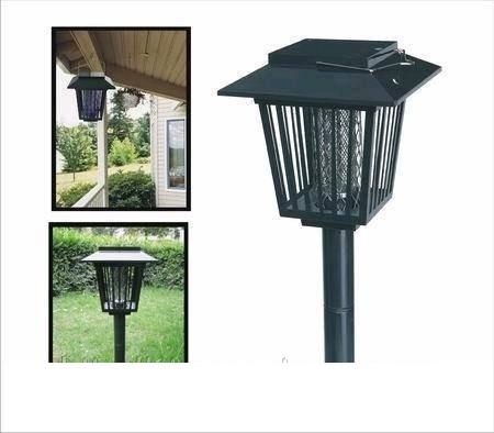 Садовые солнечные фонари – ловушки для комаров