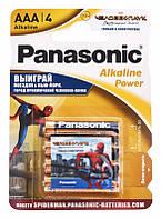 Батарейка Panasonic Alkaline Power Sticker Spider Man AAA/LR03 BL 4 шт