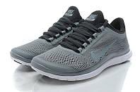Кроссовки Nike Free Run 3.0 V5 Grey&White, фото 1