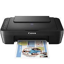 МФУ CANON Pixma E414 Черный струйный принтер сканер копир 4800 dpi печать сканирование для школьника студента, фото 2