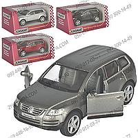 Машинка KT 5078 W, Volkswagen Touareg, масштаб модели 1:38, коллекционные машинки от Kinsmart