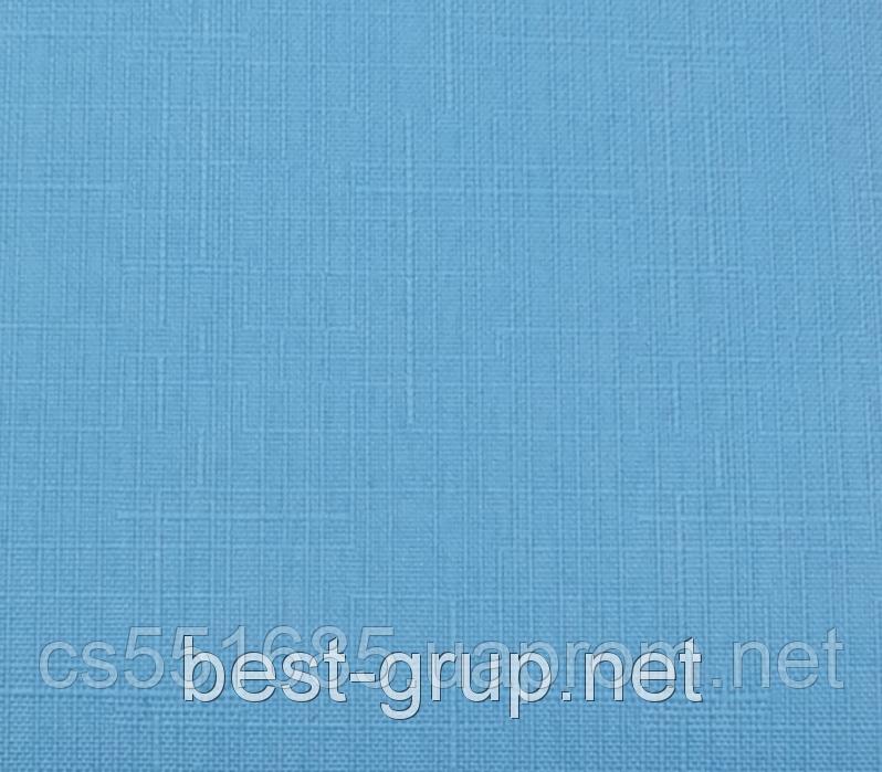 MSF-042 Блакитна мрія (0,475 х 1,70 м) Linen ( Льон) -тканинні ролети Oasis Оазис