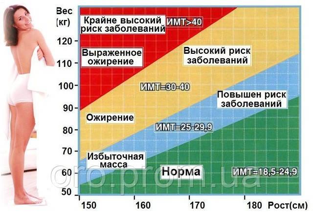 Индекс массы тела 27