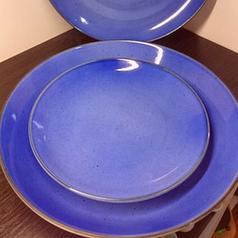 Тарелка мелкая без борта, цветная, 210 мм