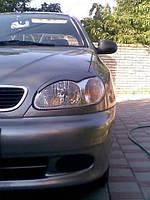 Ресницы на фары Daewoo Lanos 1997-2011