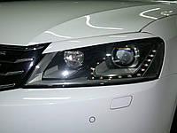 Ресницы на фары Volkswagen Passat B7 2011-2015