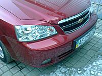 Ресницы на фары Chevrolet Lacetti 2004-2013 Sd/ Wagon (Под покраску)