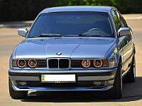 Накладка (губа) на передний бампер М-тех BMW 5 series E34